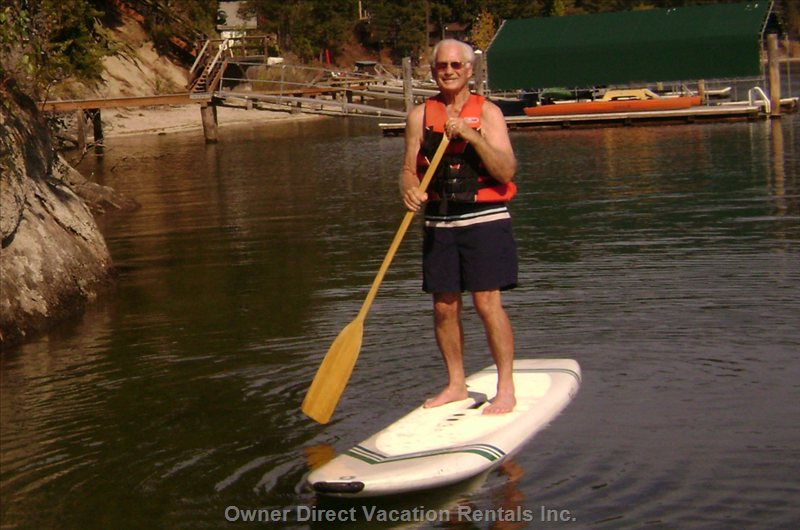Paddle Boards Available in 3 Sizes