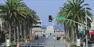 Downtown Hermosa Beach is Just a Short Walk Away
