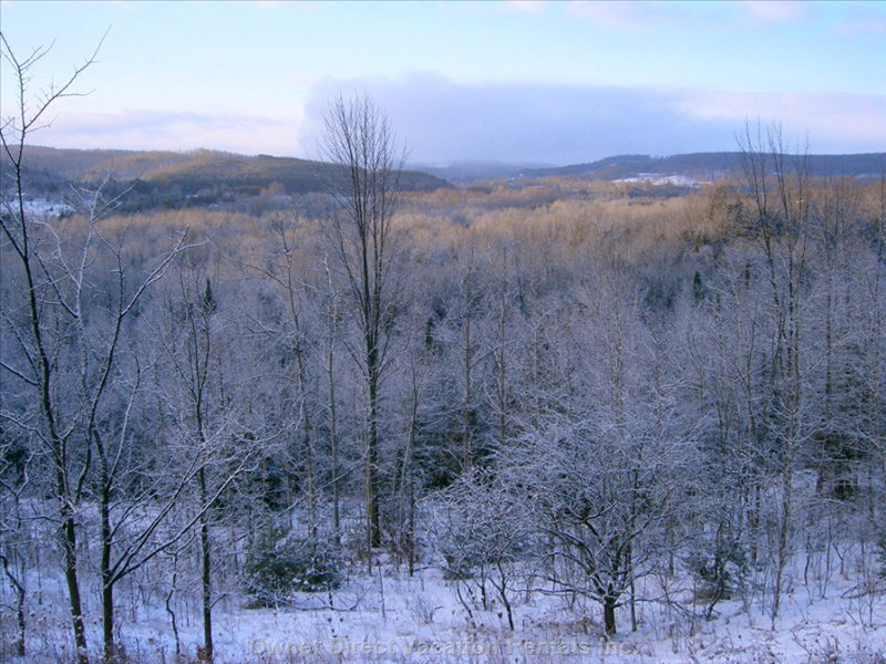 View from one of the Hills Overlooking Hockley Valley
