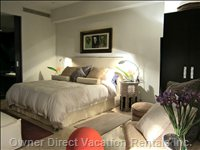 Master Bedroom Suite with Superior King Bed, Mattress and Luxurious Bed Linens