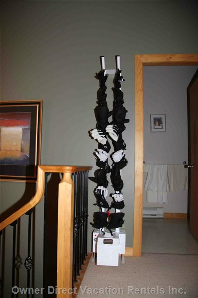 9 Pair Glove Dryer in Condo