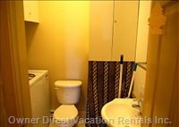 1/2 Bathroom and Laundry Room