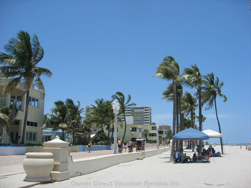 Relax on the Beach, Or Walk, Bicycle, Or Roller-Skate on the Broadwalk