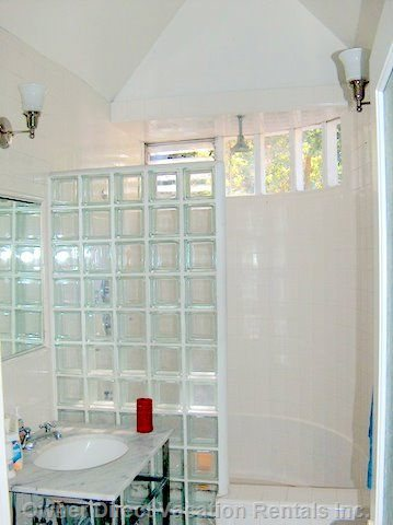Gorgeous White Tile Bathroom