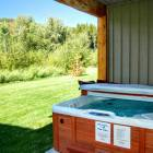 Private Deck with Private Hot Tub and Bbq