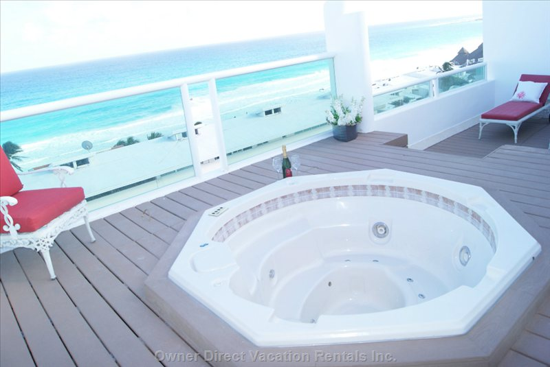 Perfect Place to Relax with Ocean View Jacuzzi