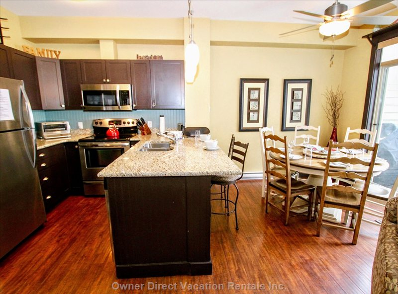 Fully Equipped Kitchen and Dining Space