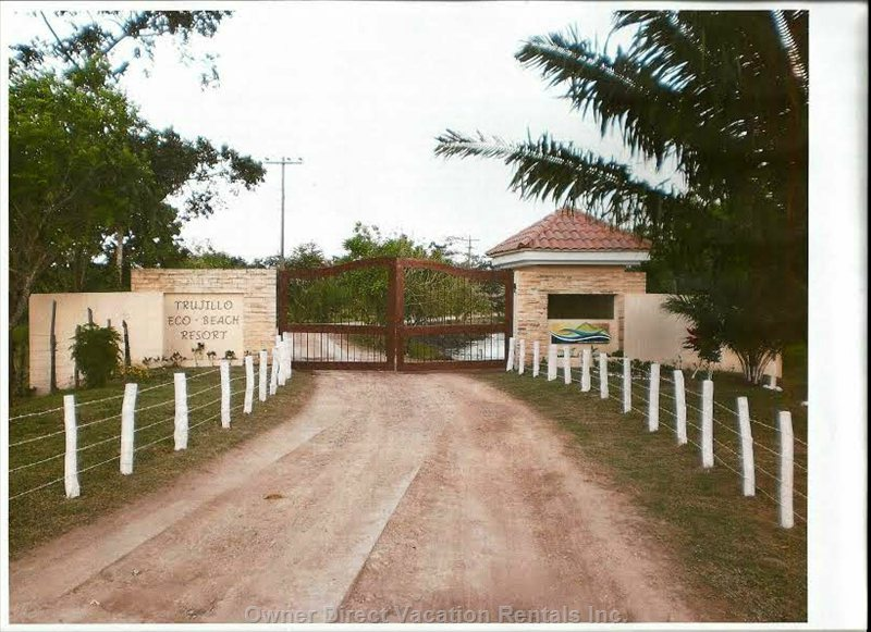 Entrance of the Private, Gated Community Where, you Will Enjoy Staying At.