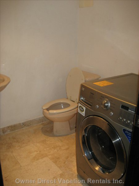 Third Bathroom with Washer & Dryer