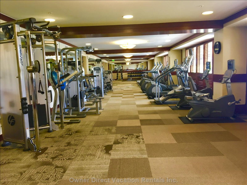 Oversized Fitness Center