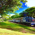 Ko Olina Vintage Site Seeing Train, Great to View the West Coast of O'ahu