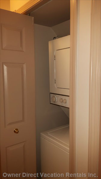 Washer Dryer Combo in Suite