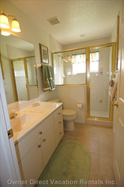 Bathroom off of Queen Bedroom
