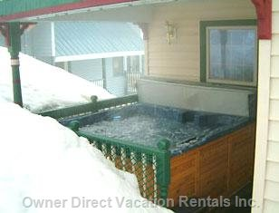 Hot Tub - Located outside Main Kitchen