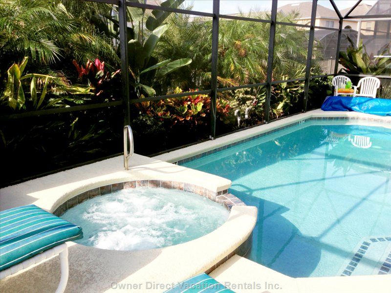 Private Pool and Spa with Lanai
