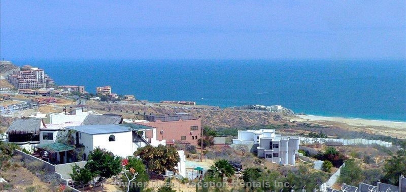 Overview from the Hill behind the House.  Nearest House on the Right Side is Casa Pacifica
