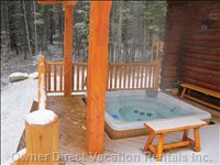 Private 7 Person Hot Tub - Outdoor and Covered
