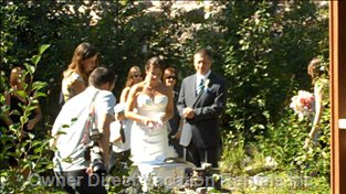 We Have a Great Spot Just behind Vagabond Lodge to Hold your Wedding Ceremony