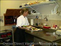 Private Chefs Can be Hired to Prepare your Meals.