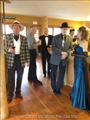 Theme Parties are a Great Way to Go at Vagabond Lodge.