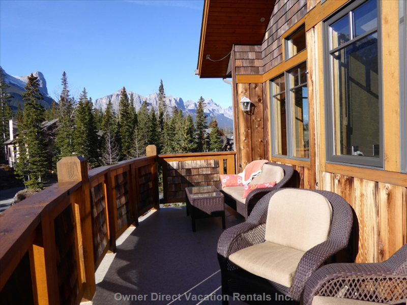 1 out of 2 Terraces - Relax in the Alberta Sun