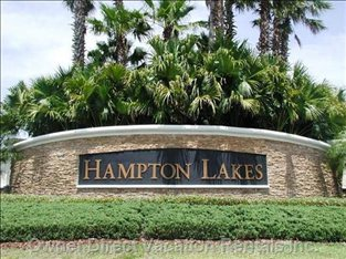 The Entrance at Hampton Lakes.