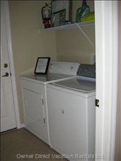Laundry Room in the Home........convenience.