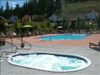 Central Outdoor Heated Pool & Hot Tubs