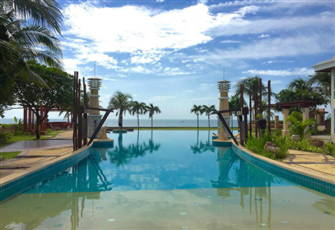 Beachfront Family Penthouse Room at Seaside Hua Hin