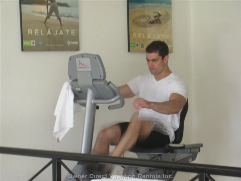 Exercise Room is Located Very Close to Condo.   Two Rooms of Equipment and Tv