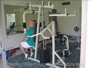 Exercise Room for those who Must