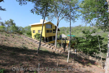 Surrounded by the Huatulco Forest Yet near Beaches and Towns.