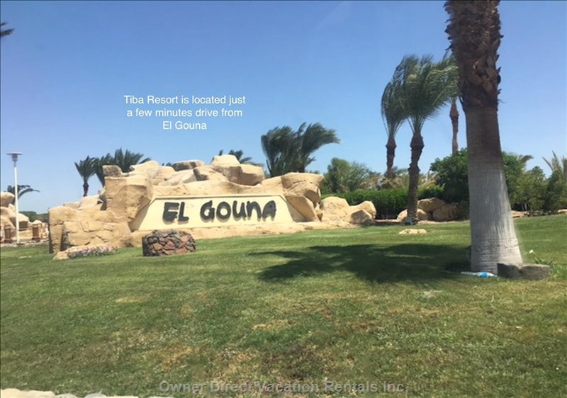 Only a few Minutes Drive to the Very well Known and Popular Tourist Resort El Gouna.