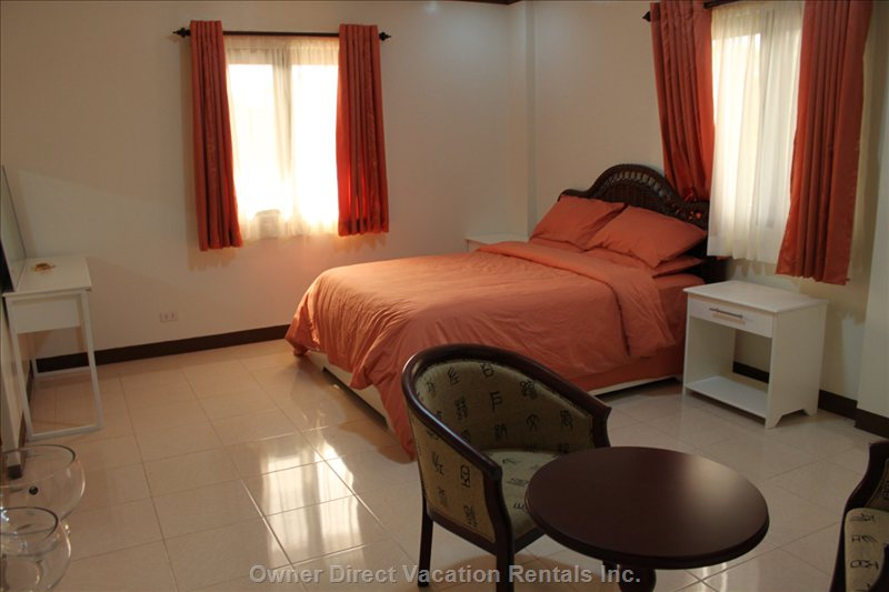 Master Bedroom - this Room has a Double Shower inside the Bedroom, with a Separate Jacuzzi Bathroom