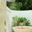 Rain Shower and Flower Bath
