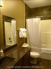 Second Floor has a Full Bathroom.  All Linens and Towels are Provided.