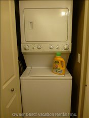 Washer and Dryer are Also Located in the Second Floor Bathroom.
