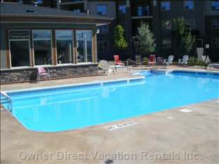 Large Pool Area for everyone!