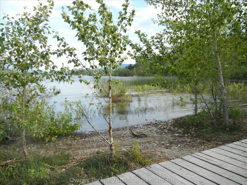 Walk along the Beach at the James Chabot Provincial Park - a Short Walk from your Room!