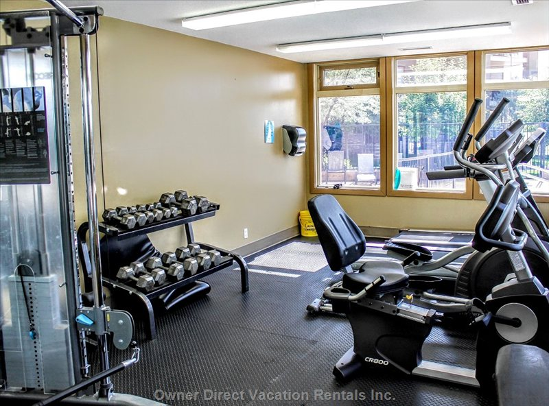 Fitness Room on Site - Free Access