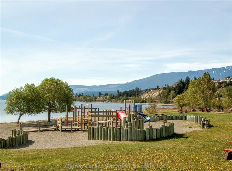 James Chabot Provincial Park (Beach & Playground - Walking Distance)