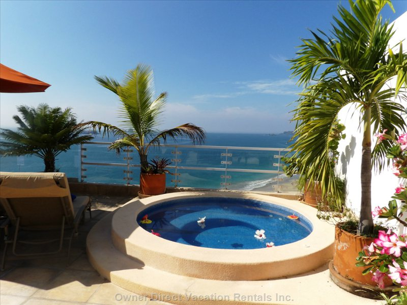 Private Jacuzzi for your Exclusive Use.