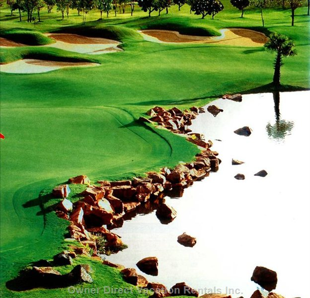 Local Golf Course - Home for the Indonesian Open