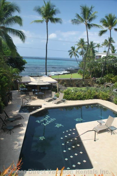 The Beautiful Ocean View from our Wrap around Lanai!
