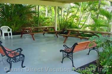 Tropical Picnic / Bbq Area