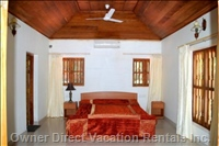 Furnished a/C Bedrooms with Attached Bathrooms & a Sea View