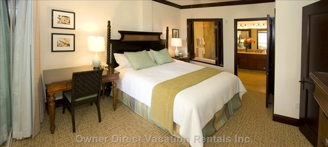 The Queen Master Suite Bedroom,