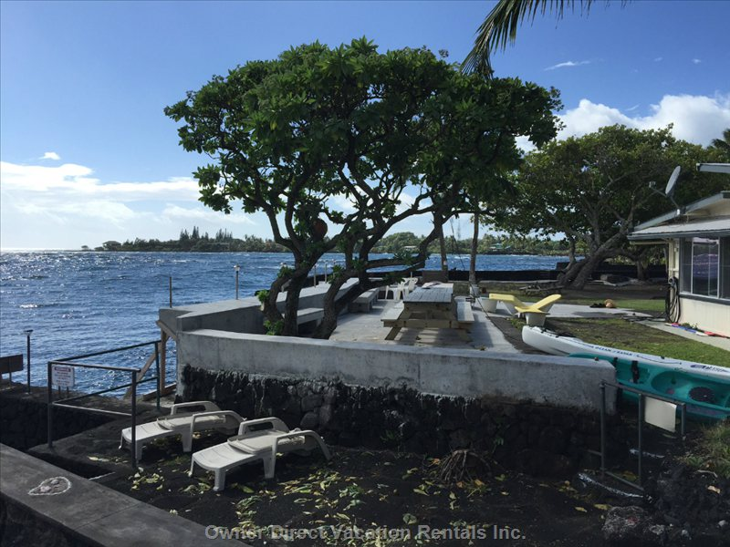 Kapoho vacation rental owner direct for Fish rock rentals