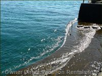 Direct Access into a Prestine Bay & Ocean!  Great for Snorkeling, Kayaking, Fishing, Surfing, Etc