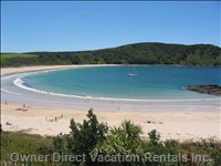 Spectacular Matai Bay - Two Beaches in a Heart Shape. 8 Minute Drive from our House